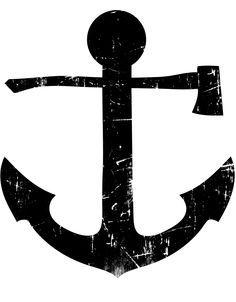 flag nor fail anchor tattoo