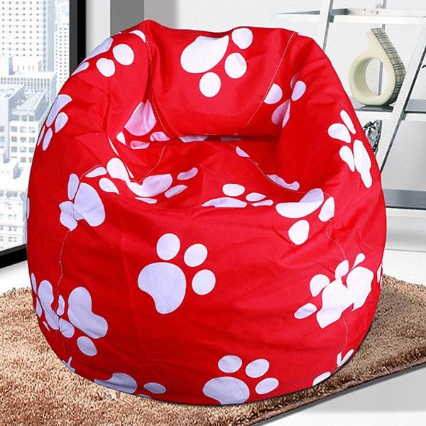 Removable Lazy Bean Bag Chair Living Room Furniture Computer Leisure Beanbag Seat Home Corner Sofa Puff Para