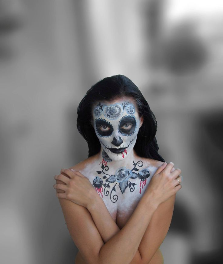 Face painting dead