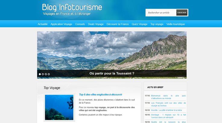 http://blog.infotourisme.net/ Un blog Wordpress bien noté, bien référencé et ergonomique !