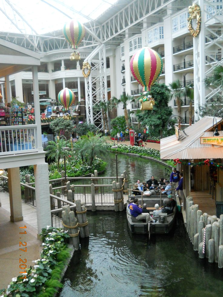 Gaylord Opryland Hotel in Nashville Tn 2011. I used to drive this Delta Boat as a tour guide at the Opryland Hotel.