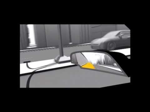 Cinco soluciones para reducir los riesgos del ángulo muerto en el coche