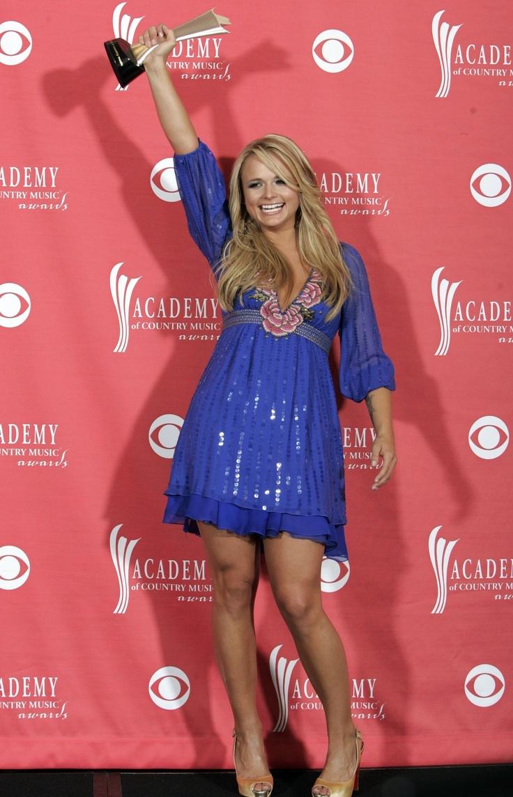Miranda lambert pretty dress