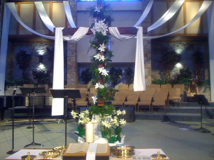 Easter Decorating Ideas For Church 92 best church decorations images on pinterest | church banners