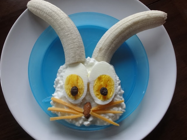 Funny bunny food (Photo only, site is gone)