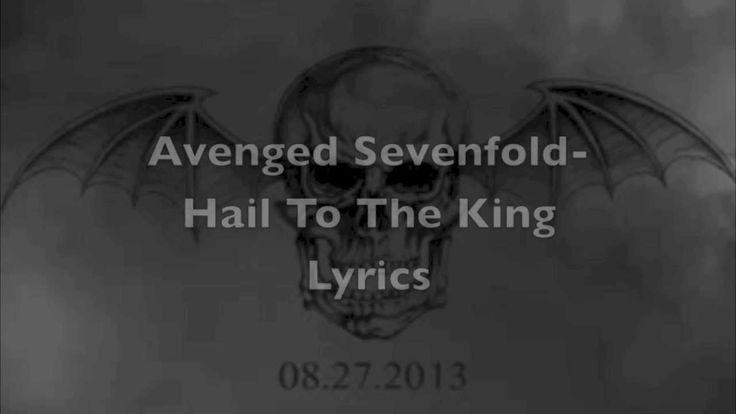 Avenged Sevenfold-Hail to the King Lyrics    #spiritoftruth #thuglife #souljah #onfire
