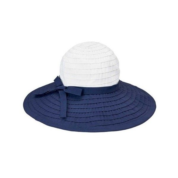 Women's San Diego Hat Company Ribbon Large Brim Hat w/ Bow RBL299 ($40) ❤ liked on Polyvore featuring accessories, hats, summer hats, brimmed hat, summer beach hats, beach hat and white sun hat