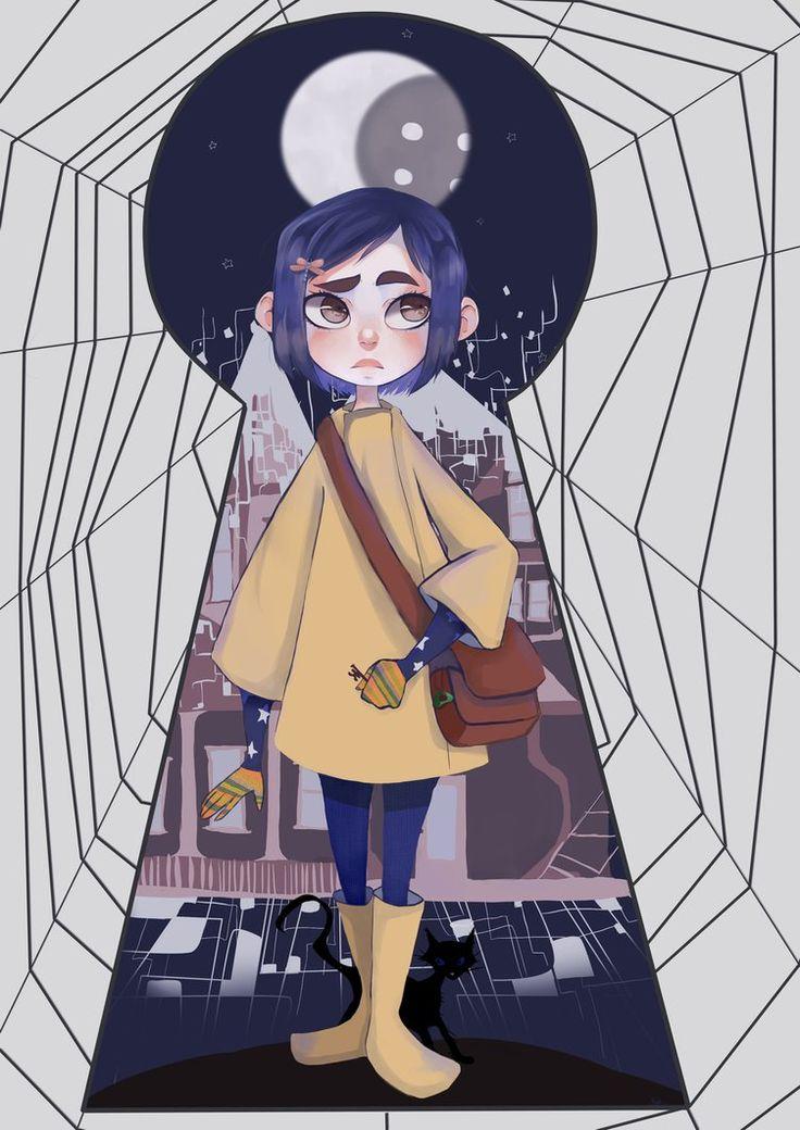 Coraline Jones by PastaNya.deviantart.com on @DeviantArt                                                                                                                                                     More