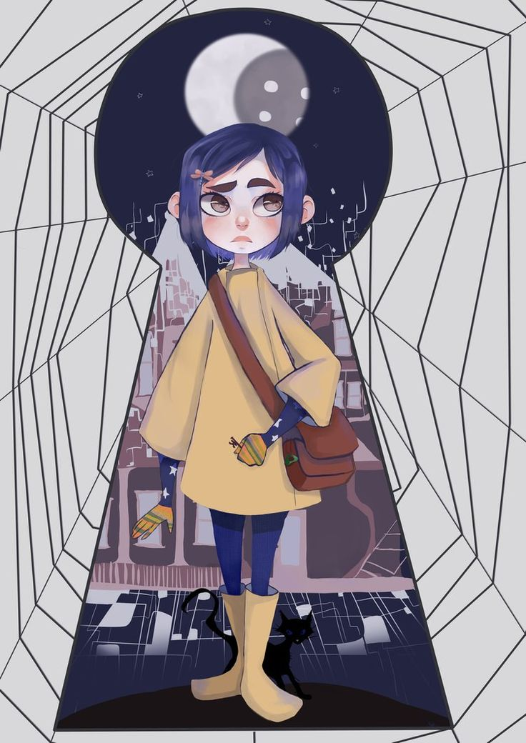Coraline Jones by PastaNya.deviantart.com on @DeviantArt                                                                                                                                                     More
