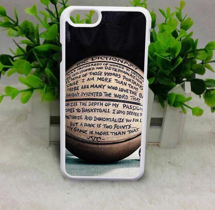 Nike Basketball Quote Case for iPhone 4 5 6 plus 6s plus Samsung iPhone Cases #UnbrandedGeneric