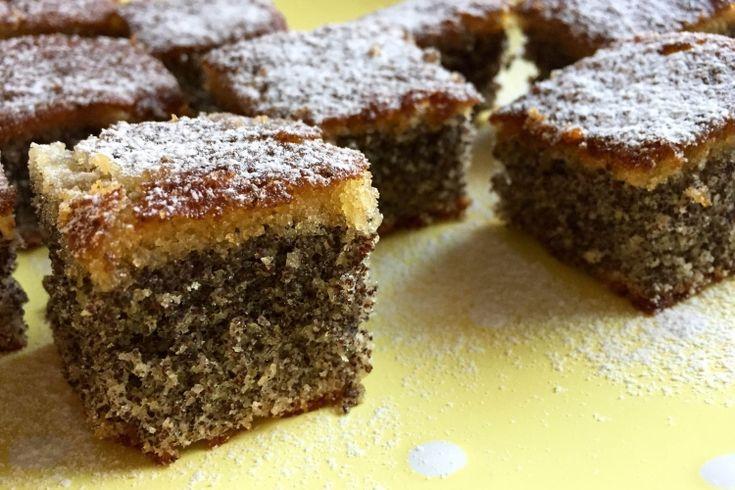 Bögrés mákos süti glutén-és laktózmentesen