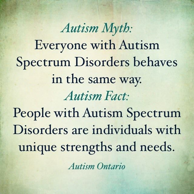 245 best awareness for autism images on pinterest autism autism autism myth and fact urtaz Gallery