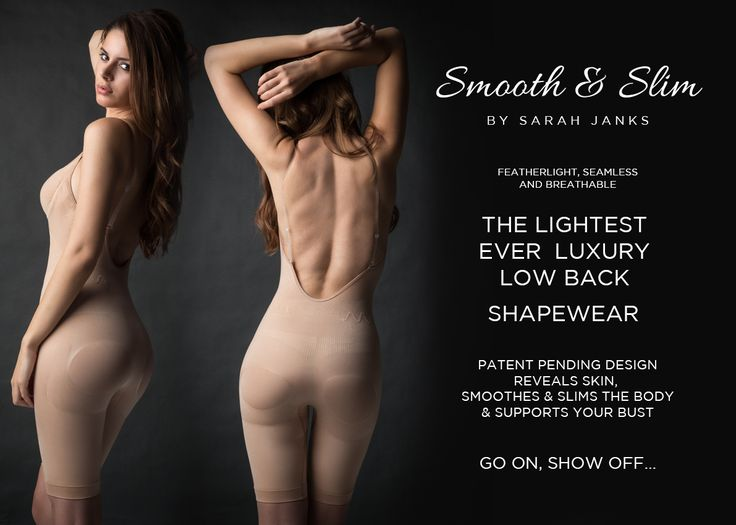 Wedding Lingerie – Smooth and Slim Shapewear. #SarahJanks #WeddingLingerie