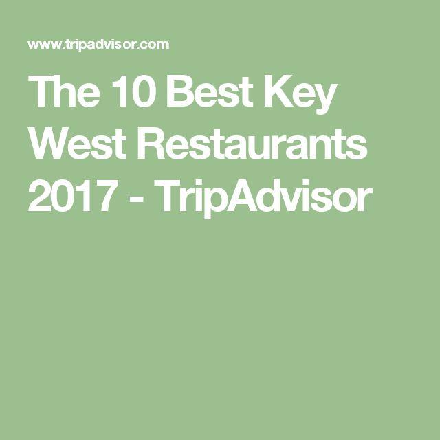 The 10 Best Key West Restaurants 2017