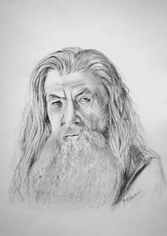 21 best dessin crayon seigneur anneau images on pinterest - Dessin seigneur des anneaux ...
