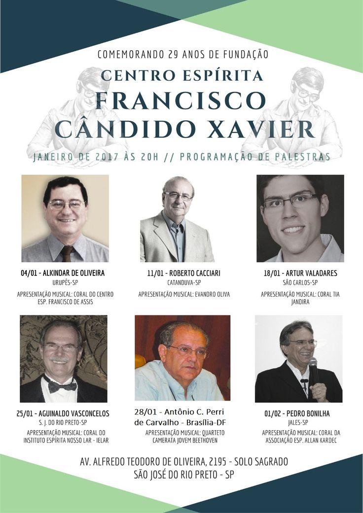 CEFCX - Palestra com Antonio Cesar Perri em São José do Rio Preto - SP - http://www.agendaespiritabrasil.com.br/2017/01/25/cefcx-palestra-com-antonio-cesar-perri-em-sao-jose-do-rio-preto-sp/