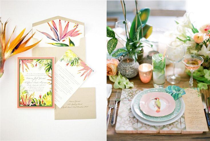 Les 456 meilleures images propos de decoration table sur for Deco sejour tropical