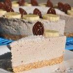 Cheesecake fara coacere cu banane | Retete culinare cu Laura Sava