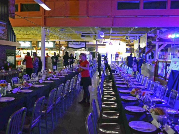 CharPOPLuck brought together 100 chefs for the Calgary Food Bank