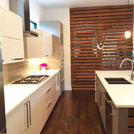 A Slatted Panel Is Great Way To Add Definition In Open Plan Living Simply Trim BoardOpen LivingContemporary InteriorDesign FirmsLife