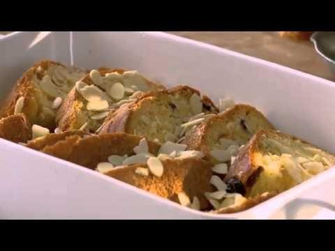 Gino D'Acampo : Amaretto, Panettone & Butter Pudding Recipe