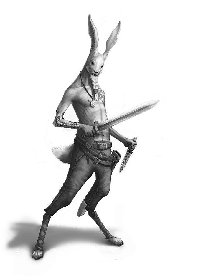 Rabbit Viking by ~Windmaker on deviantART