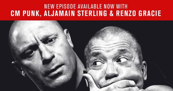 Legend Renzo Gracie and UFC Bantamweight contender Aljamain Sterling join Matt…