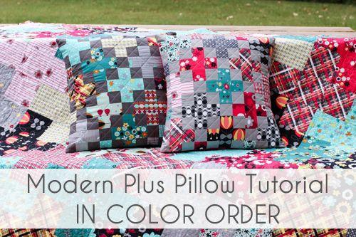 plus pillows tutorial