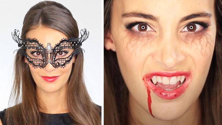 Tuto Maquillage et Coiffure Halloween : Vampire Diaries Katherine Pierce...