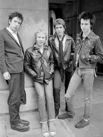 Sex Pistols--more a counter-cultural statement than a band.