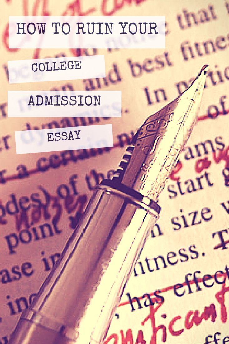 How to write an admission essay 10 easy steps