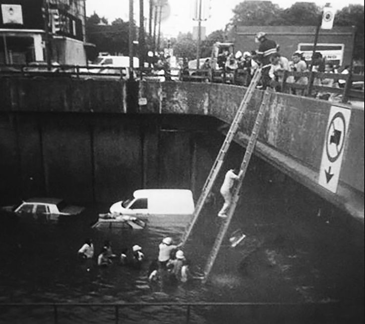 The 30th Anniversary of the Decarie Expressway flood