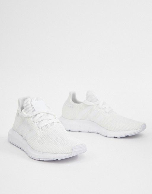 ae45bb413e5 adidas Originals white Swift run sneakers in 2019 | GYM | Sneakers ...