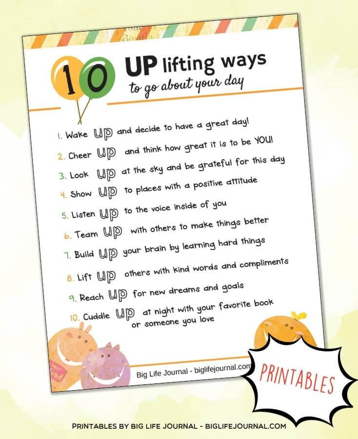 7 Activities To Help Your Child Develop A Positive Attitude New