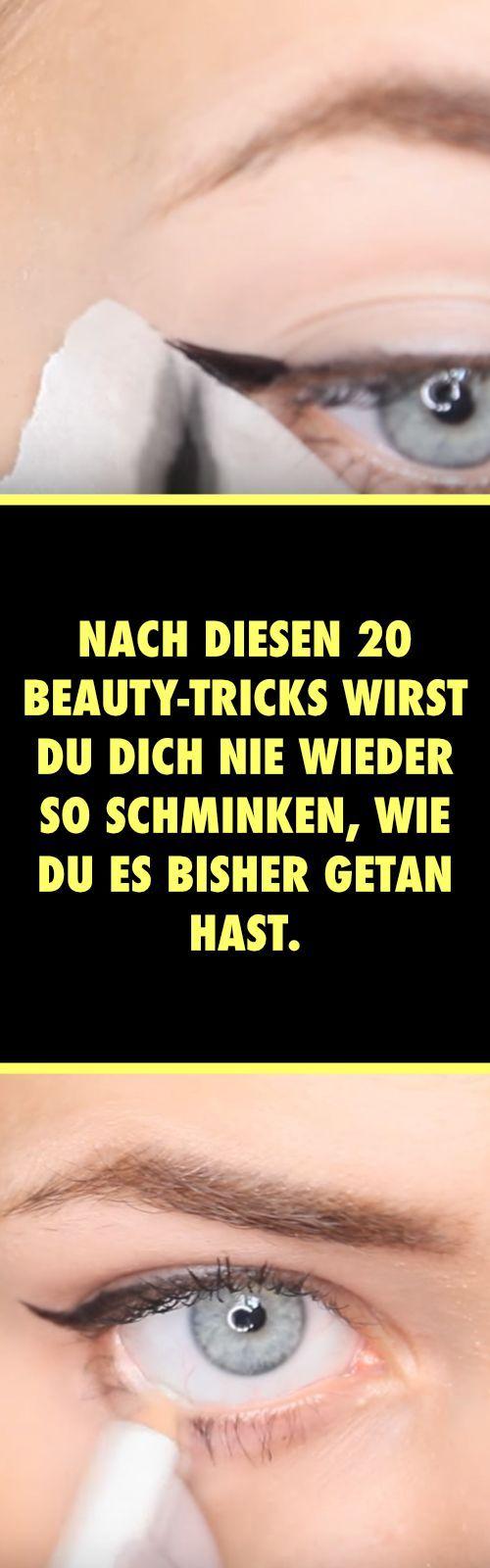 Nach diesen 20 Beauty-Tricks wirst du dich nie wieder so schminken, wie du es bisher getan hast.