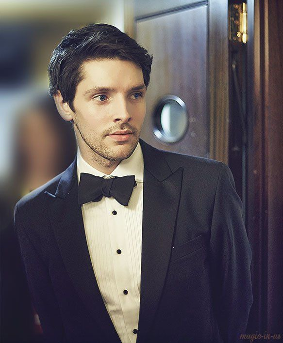 Colin Morgan. IS THAT WHAT HE LOOKS LIKE NOW BECAUSE DAMNNNNN