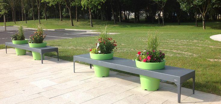 Relaks w mieście? To możliwe! - Inspirowani Naturą   modern design public furniture by terra group