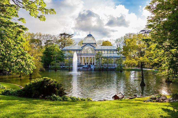 """This is Madrid's version of New York's Central Park, with beautiful gardens, a lake, and a glass palace. It's also a perfect 5K run around the perimeter, which is just right for me."""