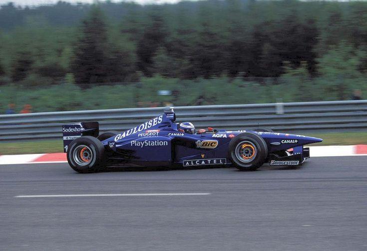 Olivier Panis (1998) by F1-history.deviantart.com on @deviantART