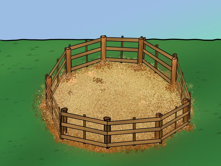 Building a round pen may help you become a more effective horse trainer. Due to the curved nature of the enclosure, round corrals provide a safe environment that prevents horses from running away. Round pens may be constructed from wood or...
