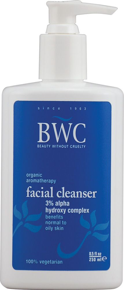 Beauty Without Cruelty Facial Cleanser Alpha Hydroxy Complex  A #LeapingBunny certified brand.  #crueltyfree