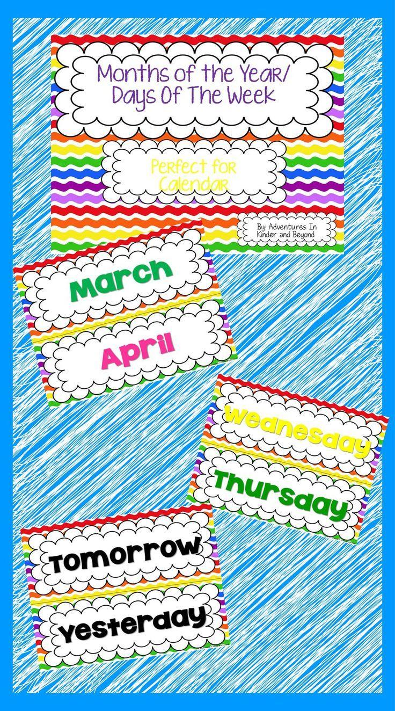 Classroom Calendar Days Of The Year : Ideas about birthday calendar classroom on pinterest