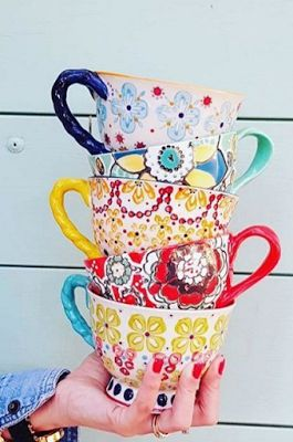 With A Twist Teacup | Pinned by topista.com