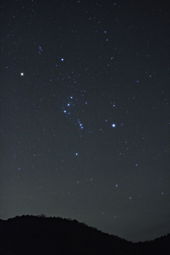 Orion is my favorite constellation. And that's not just because he's the only one I can find.