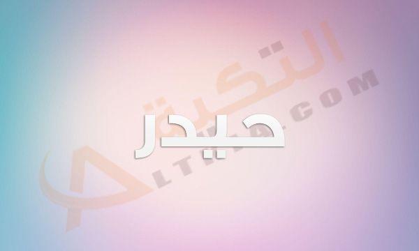 معنى اسم حيدر في المعجم العربي هذا الاسم ي عتبر غريب على السمع وهذا ما يجذب البعض له وذلك لأن الكثير يميل إلى الأسماء الغريبة الغير منتش Neon Signs Neon Signs