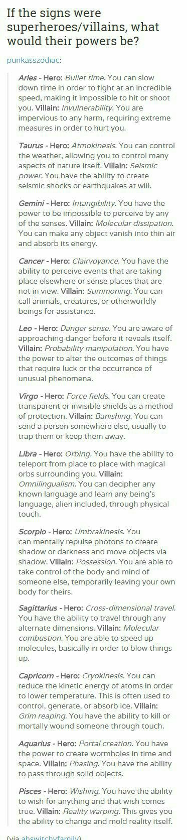 Hell yeah! I'm an Aquarius.  Now to decide whether to be a villian or hero...