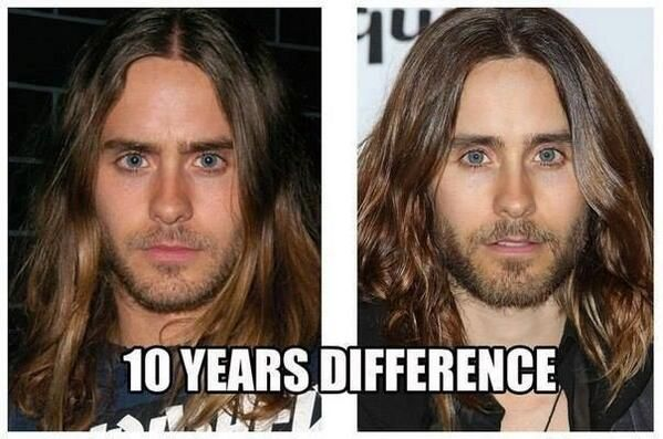 Has not aged one fricken bit... wow!! Now i started to think he's a vampire