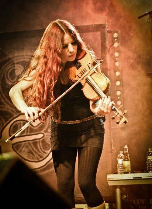 Meri Tadic from Eluveitie with her Violin