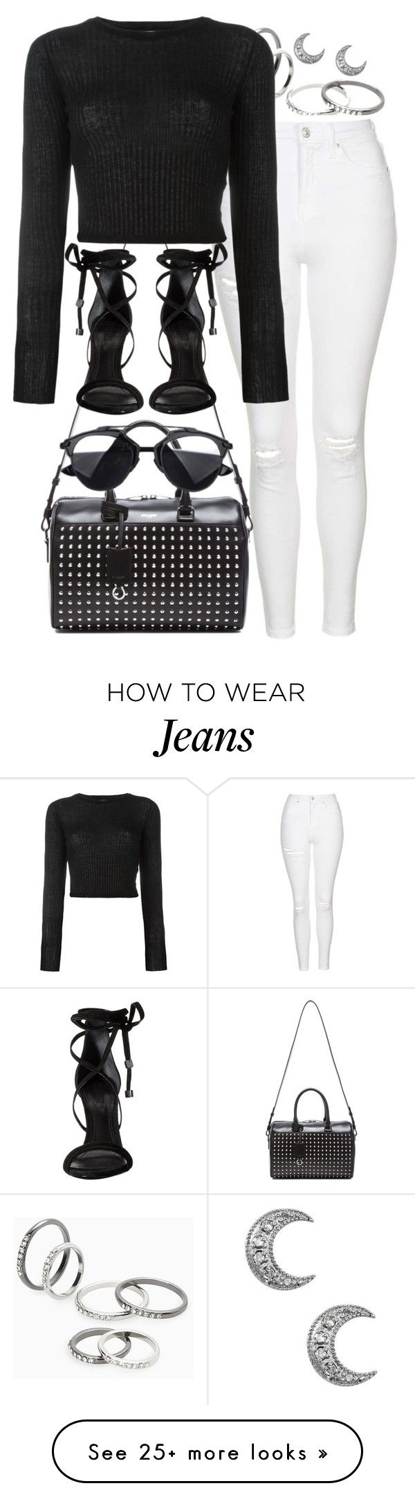 """monochromatic"" by sophiasstyle on Polyvore featuring MANGO, Topshop, Yves Saint Laurent, Forte Forte, Schutz and monochrome"