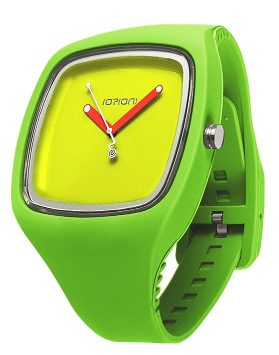 IOION BIG in Neon Green http://www.italcompany-ioion.nl/ioion-big-fashion-horloge-fluo-green-verde-ionwat306.html